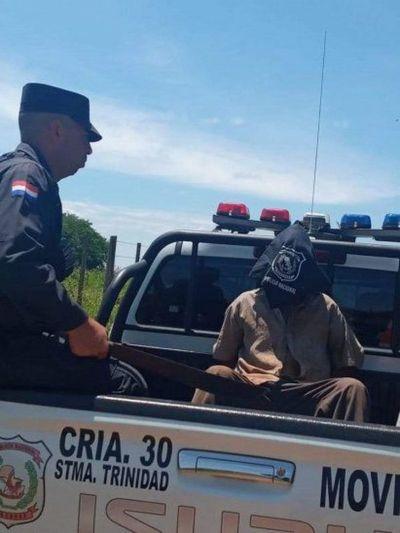 Detienen a un hombre acusado por abuso sexual en niños en el departamento de Itapúa