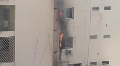 Principio de incendio afecta edificio de la Vicepresidencia – Prensa 5