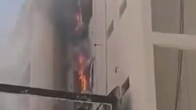 Se incendia