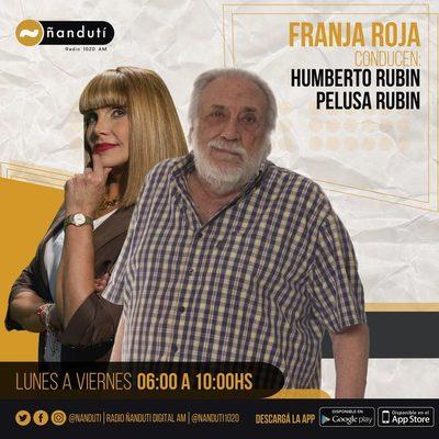 Franja Roja con Humberto y Pelusa Rubin