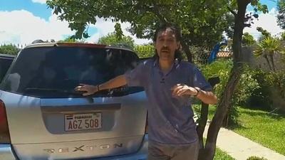 Finalmente, tras su reclamo en las redes, nuestro compañero Michelín, recuperó su camioneta