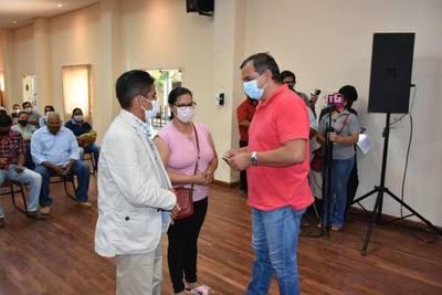Gobierno departamental completa aporte a Juntas de Saneamientos de siete distritos de Misiones