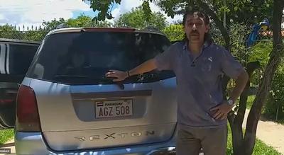 """Crónica / (VIDEO) Michelin recuperó su camioneta que estaba en poder de un """"sinvergüenza"""""""