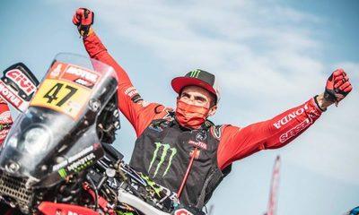 Benavides se convierte en el primer sudamericano en ganar el Dakar