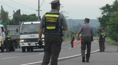 Caminera aplicará multas por documentos vencidos desde el domingo
