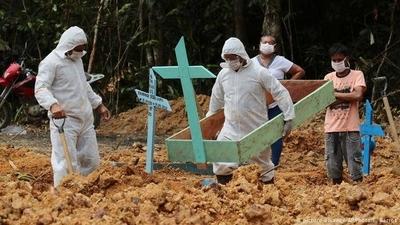 HOY / La mortalidad por COVID-19 se disparó en Brasil al desbordarse sus hospitales