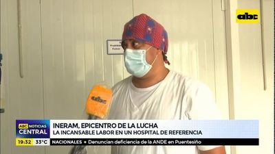 La incansable labor en un hospital de referencia