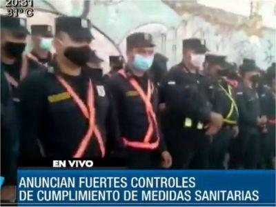 Policía refuerza controles en Ñemby y el Departamento Central