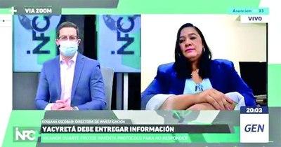 La Nación / Información denegada por Nicanor, rumbo a definirse ante la Justicia