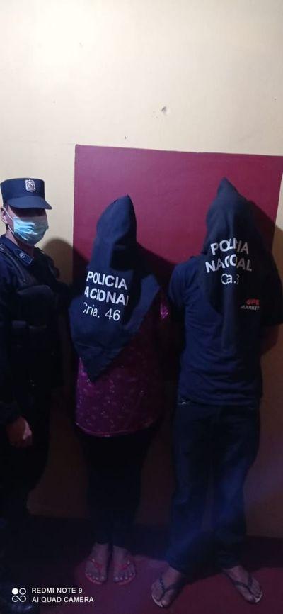 Pareja fue detenida tras denuncia su hija adolescente por presuntos abusos