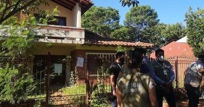 La Nación / Intervienen una casa abandonada
