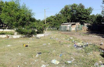 Horrendo estado de los sitios verdes en Asunción