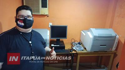 HOSPITAL DE CORONEL BOGADO RECIBE EQUIPO DIGITALIZADOR DE RADIOGRAFÍA COMPUTARIZADA
