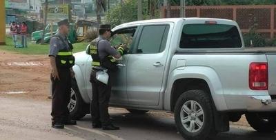 HOY / Hay 600 agentes de la Caminera en rutas: desde mañana multan por documentos vencidos