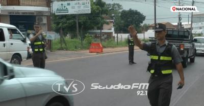 Hay 600 agentes de la Caminera en rutas: desde mañana multan por documentos vencidos
