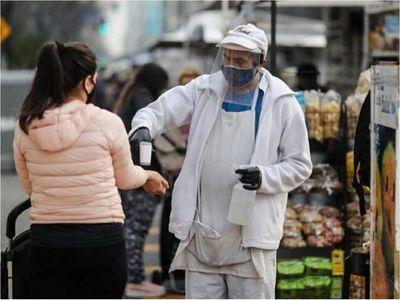 Detectan en Argentina el primer caso de la cepa de Covid-19