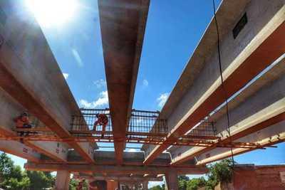 Corredor Vial Botánico: avanzan trabajos en el sector de empalme con la Costanera Norte