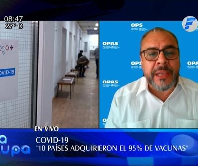 Representante de la OPS/OMS en Paraguay: ''Nosotros somos la vacuna''