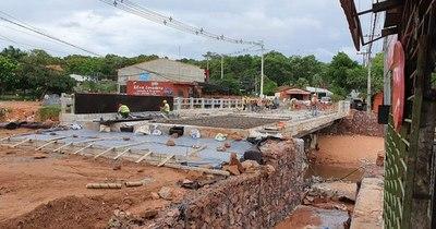 La Nación / Puente que traerá alivio a pobladores de San Antonio habilitarán el próximo mes