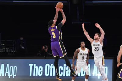NBA: Los Lakers continúan con su portentosa racha de victorias