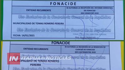 MUNICIPALIDAD DE TOMÁS ROMERO PEREIRA PRESENTÓ RENDICIÓN DE CUENTAS ANTE LA CGR
