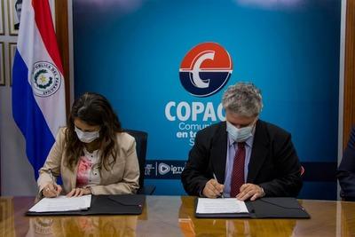 Copaco proveerá internet y mantenimiento de equipos informáticos a dependencias del Ministerio de Justicia