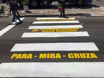 Lambaré: lanzan campaña de seguridad vial