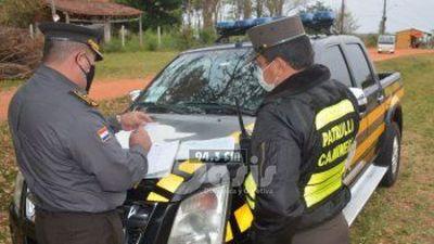 La Patrulla Caminera comenzará a sancionar por documentos vencidos