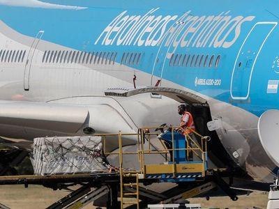 Llega a Argentina el avión con la segunda remesa de la Sputnik-V