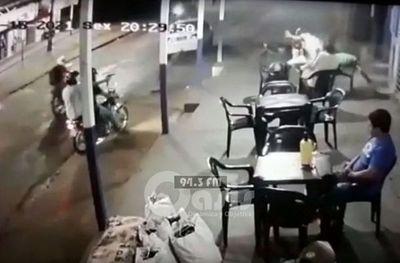Noche de terror en Ponta Porã, sicarios atacan bar y matan a dos