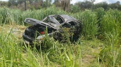 Bache ocasiona fatal accidente en la ruta Concepción – Pozo colorado