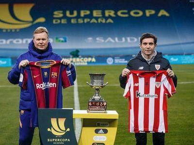 Barcelona y Athletic buscan el título de la Supercopa de España