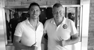 Olimpia le da la bienvenida oficial a su nuevo goleador