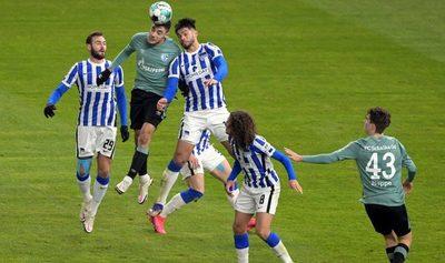 Alderete se luce en la Bundesliga, pero el Hertha no despega