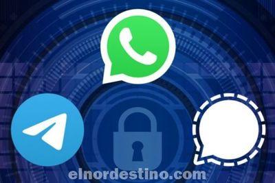 Qué es la aplicación de mensajería instantánea Signal y cuáles son las ventajas que ofrece respecto a WhatsApp y Telegram