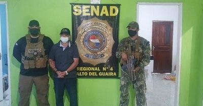 La Nación / Detienen en Salto del Guairá a brasileño buscado por narcotráfico y homicidio