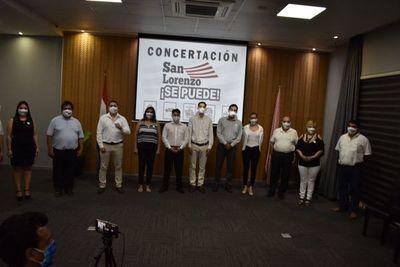 Concertación apunta a gente que quiere recuperar y reconstruir San Lorenzo