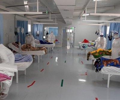 Crónica / ¡Lleno! No hay camas de terapia libres en Central