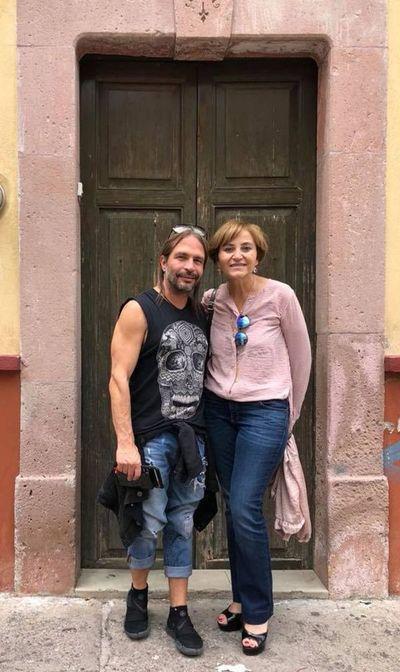 Berta  colabora con guitarrista de Maná
