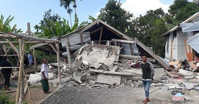 La Nación / Carrera contrarreloj en Indonesia para encontrar supervivientes del sismo, que ya dejó 60 muertos