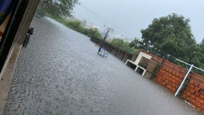 Diluvio causa inundaciones en Concepción