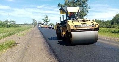 La Nación / Siguen obras de mejoramiento de la ruta PY01 en Misiones e Itapúa