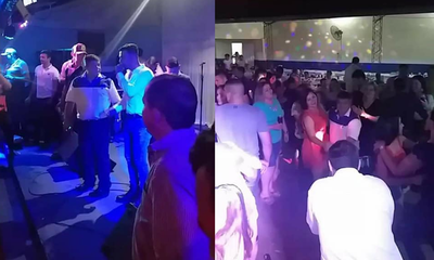 """Intendente de Mallorquín hizo una """"megafiesta"""" por su cumpleaños en plena pandemia"""