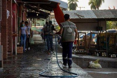 Bomberos controlan nuevo incendio en el Mercado de Abasto