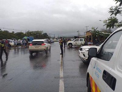 Con cierres intermitentes de ruta exigen traslado de peaje en Ypacaraí