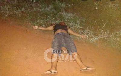 Jóven fue herido de bala en Cápitan Bado