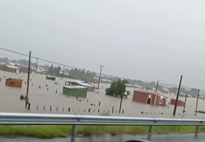 Temporal deja a numerosas familias de Concepción bajo agua