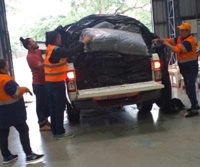 SEN envía ayuda a damnificados por inundaciones en Concepción