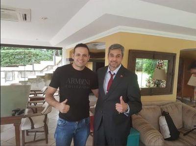 Cucho Cabañas afirma nuevamente haber entregado dinero al Presidente