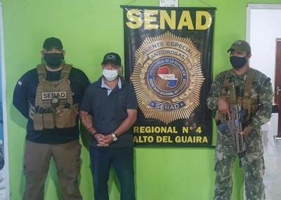Capturan a narcotraficante brasileño en Salto del Guairá – Diario TNPRESS